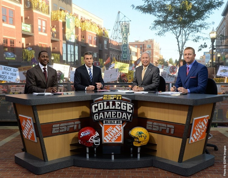 ESPN College GameDay Set